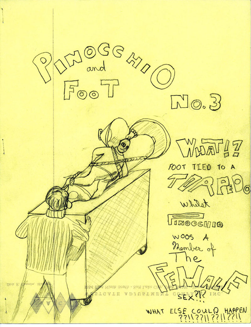Pinocchio and FooT Pafly pf003 The FooT Torpedo!