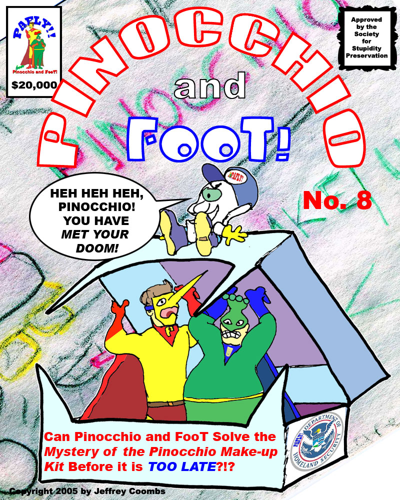 Pinocchio and FooT Pafly pf008 Who is that Munchkin Like Figure?