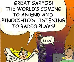 Pinocchio loves Radio Plays!